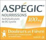 ASPEGIC NOURRISSONS 100 mg, poudre pour solution buvable en sachet-dose à Rueil-Malmaison