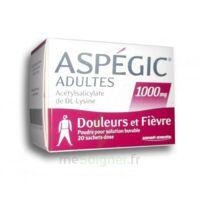ASPEGIC ADULTES 1000 mg, poudre pour solution buvable en sachet-dose 20 à Rueil-Malmaison