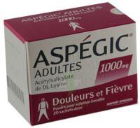 ASPEGIC ADULTES 1000 mg, poudre pour solution buvable en sachet-dose 15 à Rueil-Malmaison