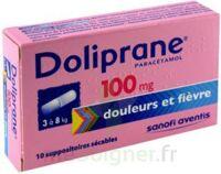 DOLIPRANE 100 mg Suppositoires sécables 2Plq/5 (10) à Rueil-Malmaison