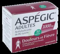 ASPEGIC ADULTES 1000 mg, poudre pour solution buvable en sachet-dose 30 à Rueil-Malmaison