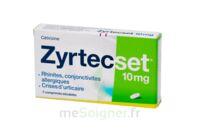 ZYRTECSET 10 mg, comprimé pelliculé sécable à Rueil-Malmaison