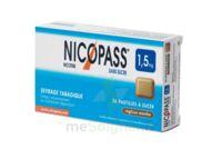 NICOPASS 1,5 mg SANS SUCRE REGLISSE MENTHE, pastille édulcorée à l'aspartam et à l'acésulfame potassique à Rueil-Malmaison