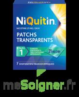 NIQUITIN 21 mg/24 heures, dispositif transdermique Sach/7 à Rueil-Malmaison