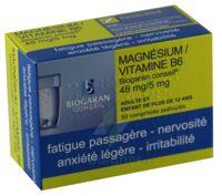 MAGNESIUM/VITAMINE B6 BIOGARAN CONSEIL 48 mg/5 mg, comprimé pelliculé à Rueil-Malmaison