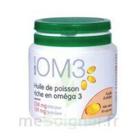 OM3 HUILE DE POISSON RICHE EN OMEGA 3, pilulier 120 à Rueil-Malmaison