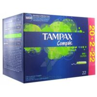 TAMPAX COMPAK, super, bt 22 à Rueil-Malmaison