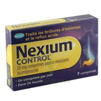 NEXIUM CONTROL 20 mg Cpr gastro-rés Plq/7 à Rueil-Malmaison