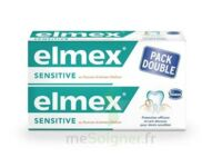 ELMEX SENSITIVE DENTIFRICE, tube 75 ml, pack 2 à Rueil-Malmaison