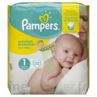 PAMPERS NEW BABY PREMIUM PROTECTION, taille 1, 2 kg à 5 kg, sac 22 à Rueil-Malmaison