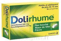 DOLIRHUME PARACETAMOL ET PSEUDOEPHEDRINE 500 mg/30 mg, comprimé à Rueil-Malmaison