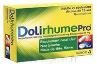 DOLIRHUMEPRO PARACETAMOL, PSEUDOEPHEDRINE ET DOXYLAMINE, comprimé à Rueil-Malmaison