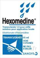 HEXOMEDINE TRANSCUTANEE 1,5 POUR MILLE, solution pour application locale à Rueil-Malmaison