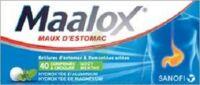 MAALOX HYDROXYDE D'ALUMINIUM/HYDROXYDE DE MAGNESIUM 400 mg/400 mg Cpr à croquer maux d'estomac Plq/40 à Rueil-Malmaison