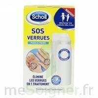 Scholl SOS Verrues traitement pieds et mains à Rueil-Malmaison