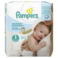 Pampers couches new baby sensitive taille 1 - 21 couches à Rueil-Malmaison