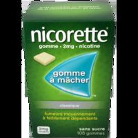 NICORETTE 2 mg Gom à mâcher médic sans sucre menthe fraîche Plq/105gom à Rueil-Malmaison
