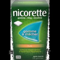 Nicorette 2 mg Gomme à mâcher médicamenteuse sans sucre fruits Plq/30 à Rueil-Malmaison