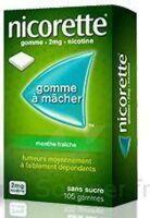 NICORETTE 2 mg Gom à mâcher médic sans sucre menthe fraîche Plq/30gom à Rueil-Malmaison