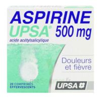 ASPIRINE UPSA 500 mg, comprimé effervescent à Rueil-Malmaison