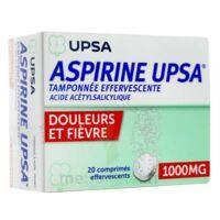 ASPIRINE UPSA TAMPONNEE EFFERVESCENTE 1000 mg, comprimé effervescent à Rueil-Malmaison