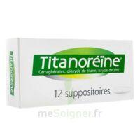 TITANOREINE Suppositoires B/12 à Rueil-Malmaison