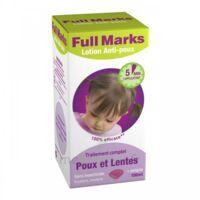 Full Marks Lotion antipoux et lentes 100ml+peigne à Rueil-Malmaison