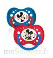 Dodie Disney sucettes silicone +18 mois Mickey Duo à Rueil-Malmaison