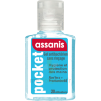 Assanis Pocket Gel antibactérien mains 20ml à Rueil-Malmaison