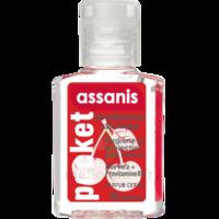 Assanis Pocket Parfumés Gel antibactérien mains cerise 20ml à Rueil-Malmaison