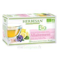 Herbesan Infusion Bio Tisane allaitement 20 Sachets à Rueil-Malmaison