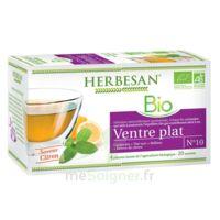 Herbesan Infusion Bio Tisane ventre plat 20 Sachets à Rueil-Malmaison