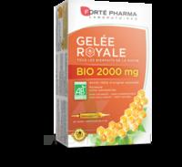 Forte Pharma Gelée royale bio 2000 mg Solution buvable 20 Ampoules/15ml à Rueil-Malmaison