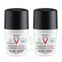 Vichy Homme Déodorant anti-transpirant anti trace 48H 2*Billes/50ml à Rueil-Malmaison